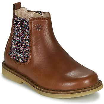 Skor Flickor Boots Acebo's 5274-CUERO Brun