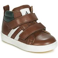 Skor Pojkar Höga sneakers Acebo's 3040-CUERO-C Brun