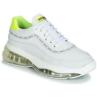 Skor Dam Sneakers Bronx BUBBLY Vit / Gul