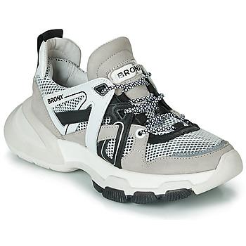 Skor Dam Sneakers Bronx SEVENTY STREET Grå / Vit / Svart