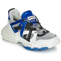 Skor Dam Sneakers Bronx SEVENTY STREET Vit / Svart / Blå
