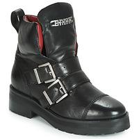 Skor Dam Boots Bronx GAMLETT Svart