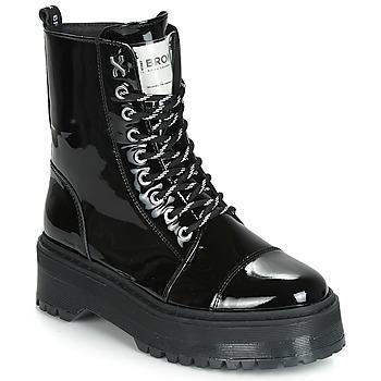 Skor Dam Boots Bronx RIFKA SUPER CHUNKY Svart