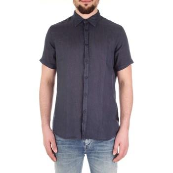 textil Herr Kortärmade skjortor Fred Mello FM19S27CU Blu