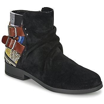Skor Dam Boots Desigual OTTAWA PATCH Svart