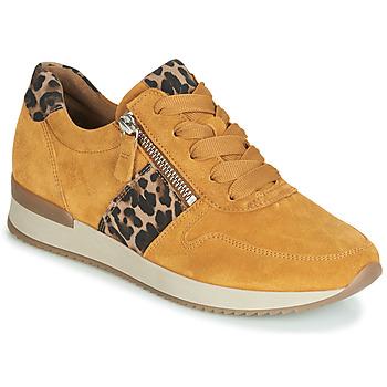 Skor Dam Sneakers Gabor 3342010 Senapsgul