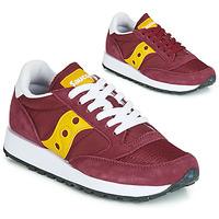Skor Dam Sneakers Saucony JAZZ ORIGINAL VINTAGE Bordeaux / Gul