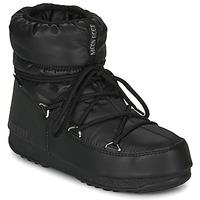 Skor Dam Vinterstövlar Moon Boot MOON BOOT LOW NYLON WP 2 Svart