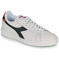 Skor Sneakers Diadora GAME L LOW Vit / Svart / Karamell