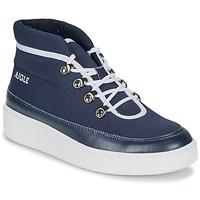 Skor Dam Boots Aigle SKILON MID Marin
