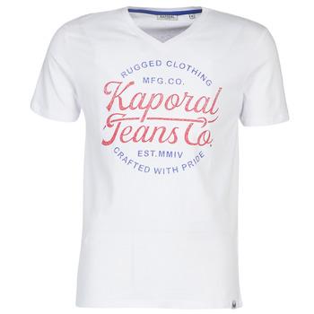textil Herr T-shirts Kaporal OBUCE Vit