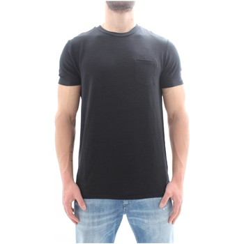 textil Herr T-shirts Scotch & Soda 149010 Black