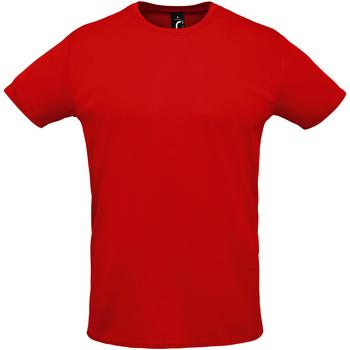 textil Herr T-shirts Sols SPRINT SPORTS Rojo
