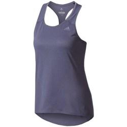 textil Dam Linnen / Ärmlösa T-shirts adidas Originals Supernova Tank Top W Grenade