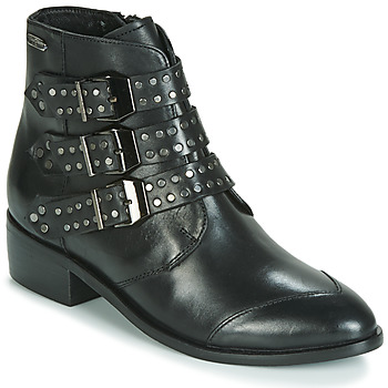 Skor Dam Boots Pepe jeans CHISWICK EASY Svart