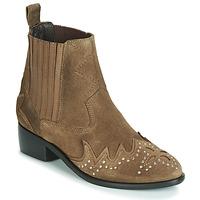 Skor Dam Boots Pepe jeans CHISWICK LESSY Brun