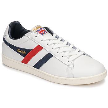 Skor Herr Sneakers Gola EQUIPE Vit / Blå / Röd