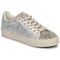 Skor Dam Sneakers Gola ORCHID II CHEETAH Vit / Silverfärgad