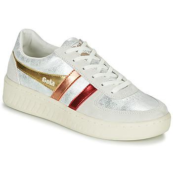Skor Dam Sneakers Gola GRANDSLAM SHIMMER FLARE Beige / Silverfärgad