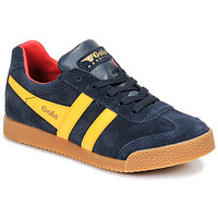 Skor Barn Sneakers Gola HARRIER Marin / Gul