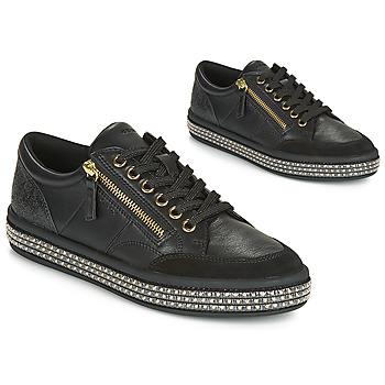Skor Dam Sneakers Geox D LEELU' Svart