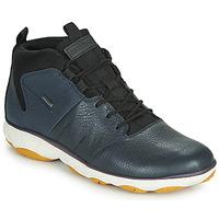Skor Herr Höga sneakers Geox U NEBULA 4 X 4 B ABX Marin