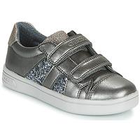 Skor Flickor Sneakers Geox J DJROCK GIRL Grå