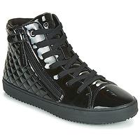 Skor Flickor Höga sneakers Geox J KALISPERA GIRL Svart