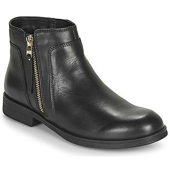 Skor Flickor Boots Geox JR AGATA Svart