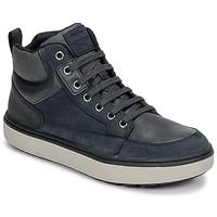 Skor Pojkar Höga sneakers Geox J MATTIAS B BOY ABX Blå / Svart