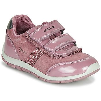 Skor Flickor Sneakers Geox B SHAAX Rosa