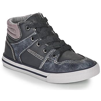 Skor Pojkar Höga sneakers Chicco CAMILLO Blå / Grå