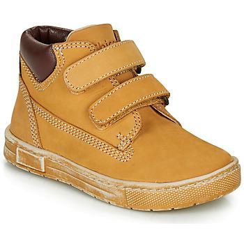 Skor Pojkar Höga sneakers Chicco CLAY Okrafärgad