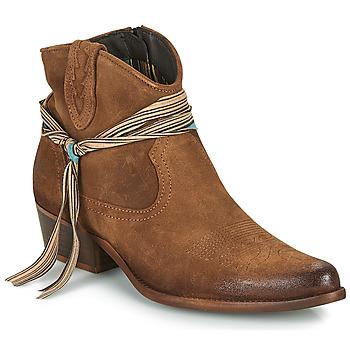 Skor Dam Boots Felmini SERRAJE Brun