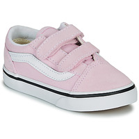 Skor Flickor Sneakers Vans TD OLD SKOOL V Rosa