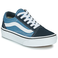 Skor Barn Sneakers Vans UY OLD SKOOL Marin / Vit