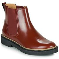 Skor Dam Boots Kickers OXFORDCHIC Röd / Mörk