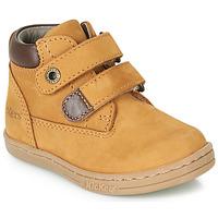Skor Pojkar Boots Kickers TACKEASY Kamel / Brun
