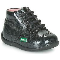 Skor Flickor Boots Kickers BILLISTA ZIP Svart