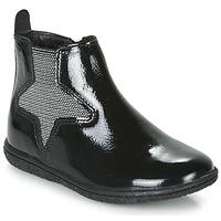 Skor Flickor Boots Kickers VERMILLON Svart