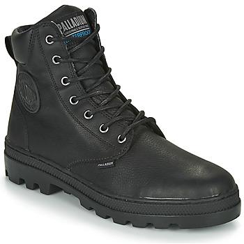 Skor Herr Boots Palladium PALLABOSSE SC WP Svart