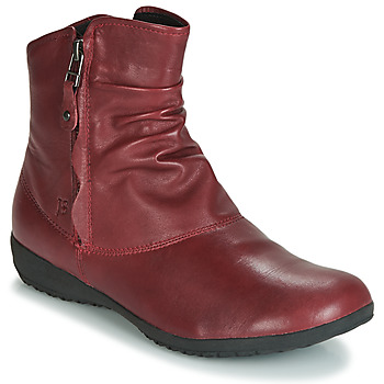 Skor Dam Boots Josef Seibel NALY 24 Karminröd