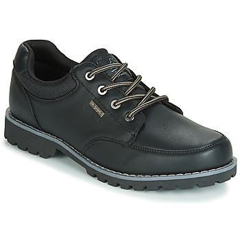Skor Herr Sneakers Kappa NAGOA Svart