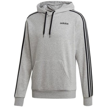 textil Herr Sweatshirts adidas Originals Essentials 3 Stripes PO FZ French Terry Gråa