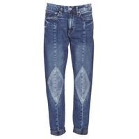 textil Dam Jeans boyfriend G-Star Raw 3301-L MID BOYFRIEND DIAMOND Blå / Ljus / Vintage
