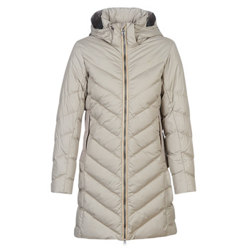 textil Dam Täckjackor G-Star Raw WHISTLER SLIM DOWN HDD LONG COAT WMN Beige