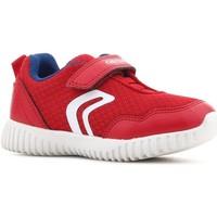 Skor Barn Sneakers Geox B Waviness B.B B822BB 014BU C7213 red