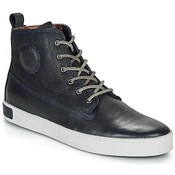 Skor Herr Höga sneakers Blackstone AM02 Marin