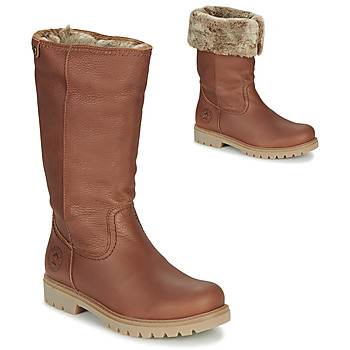 Skor Dam Boots Panama Jack BAMBINA Brun