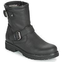 Skor Dam Boots Panama Jack FELINA Svart